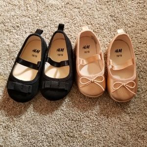 Ballerina flats for infant